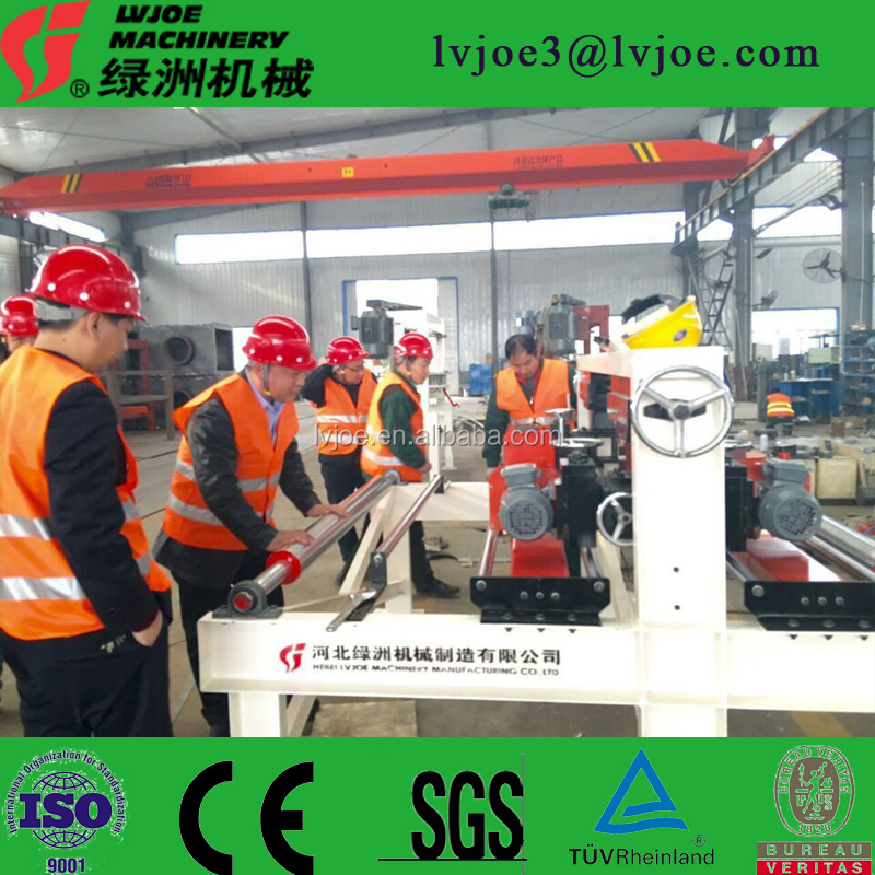 12 thickness Dryer V=2.5m/min paperfaced gypsum board making machine/ automatic drywall gypsum board making machine
