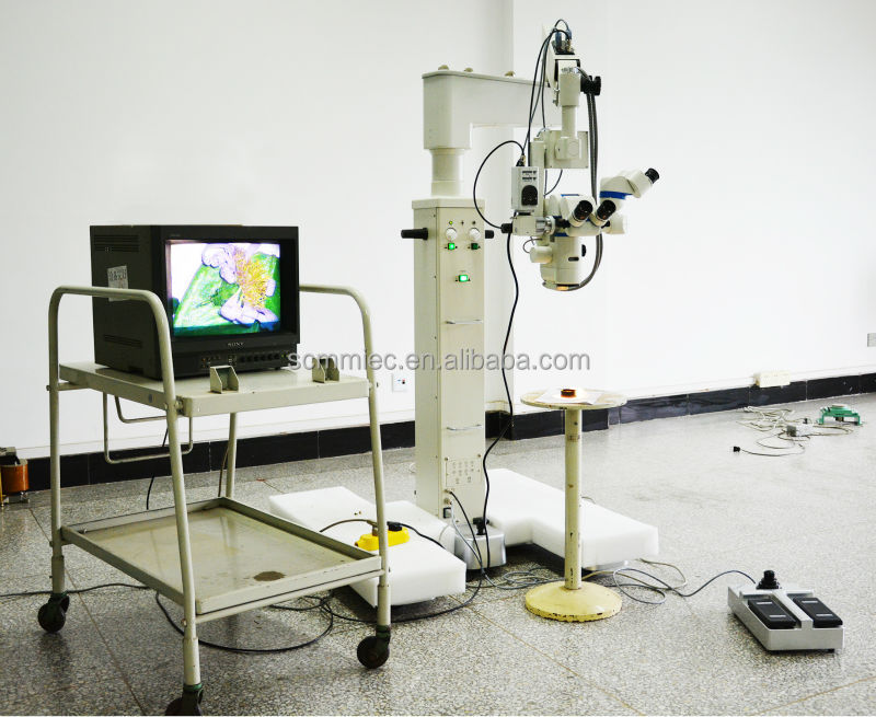 SC-5B Good price of motorized mulitfunctional neurosurgery surgical operating microscope with rotatable assistant binocular