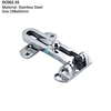 Anti-theft Clasp Door Restrictor with Chrome Effect