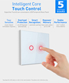 Smart home automation eu 2 way 16A max 220v touch control wireless z wave light switch