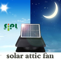 Rechargeable fan solar power roof fan solar roof ventilator with battery system