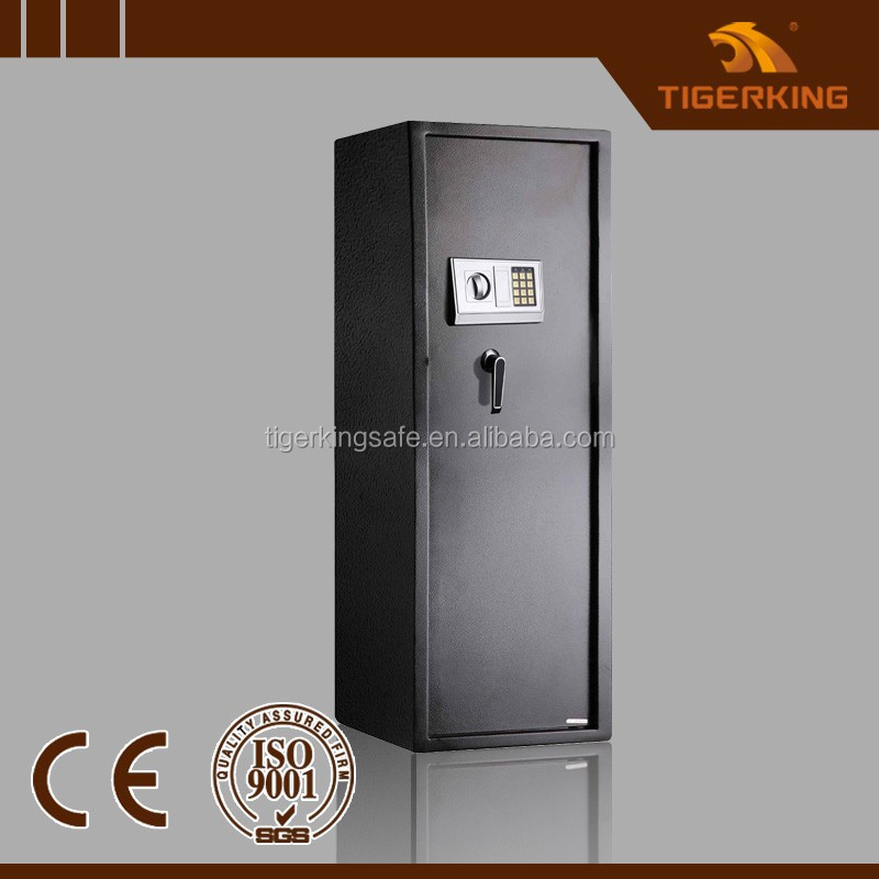 Gun security safe with electronic lock