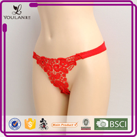 China Supplier Fashionable Cute Girl Yarn Dyed France Sexy Girls In G Strings