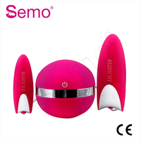 G Spot Vagina and Clitoris silicone waterproof rabbit Vibrating Vibrator sex toys for