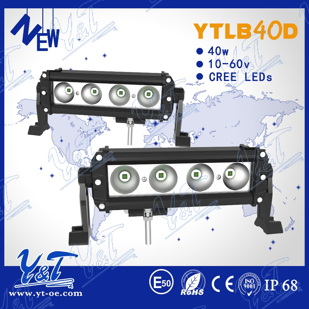 Shenzhen new arrival IP67 light IP67 1 year warrant king kong series 40w 12v Various size led lighting bar