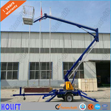 Factory price light genie lift telescopic boom lift with crank arm