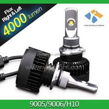Super brightness 9005 HB3 4200 lumen 24W DC12V Auto lamp car LED headlight for Toyota and Honda cars