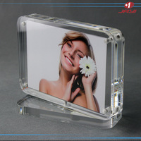 Hot Sale Crystal Clear Acrylic Magnetic Picture Photo Frame