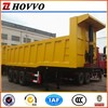 China 3 axle strong performance 60T loading capacity tipper semi trailer hot sale