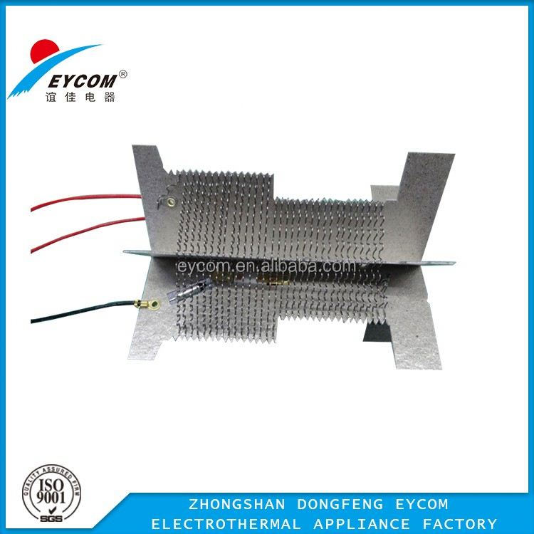 Toaster heating element, nichrome wire on mica sheet