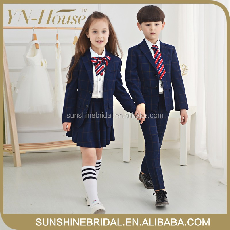 2016 new arrival primary school uniform manufacturers in china