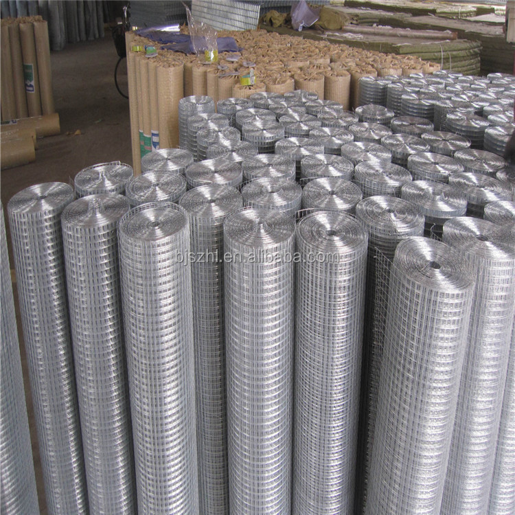Low price electro welded mesh and galvanized welded wire mesh plant