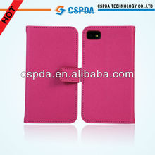 Cute pink smart phone protect stand case cover for Blackberry Z10