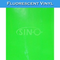 SINO Waterproof PVC Fluorescent Vinyl Film For Advertising Sign