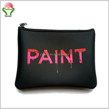 2017 newest Fashion marble cosmetic bag travel plain makeup bag for women