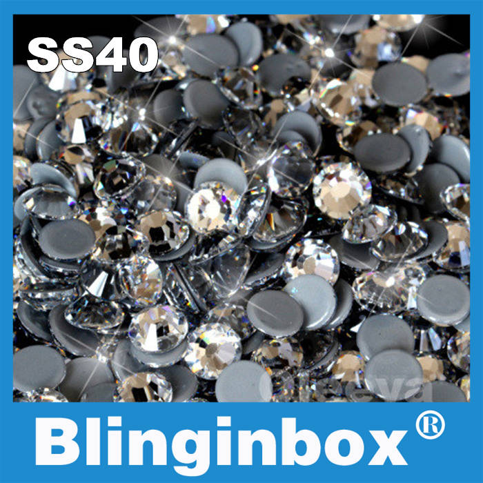 Factory directly sell free shipping grey glue hotfix stones ss40 <strong>crystal</strong> high quality 2028 hotfix rhinestone for wedding dress