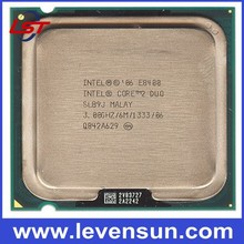 Pull clean used ceramic cpu scrap processor Intel cpu E8400 3.0GHz for desktop