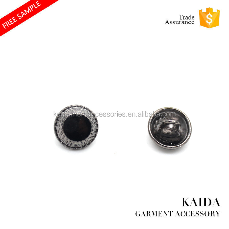 KAIDA newly design exquisite fashion shirt nickel-free metal buttons for coat and suit