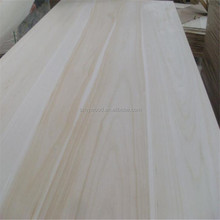 China paulownia solid wood suppliers used for wood fence panels wholesale