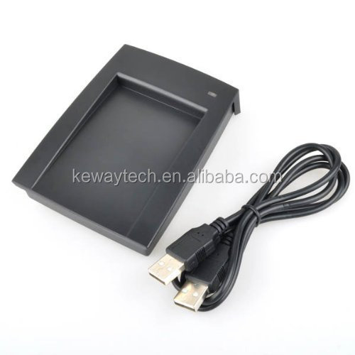 13.56Mhz USB Card Reader and Writer RFID Reader USB Mini USB RFID Reader with Free Software and SDK