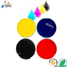 CMYK eco-friendly water based flexo printing ink