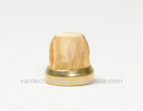 Golden Metal Filter for Air Conditioner