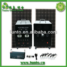 Factory direct 1.2kw solar panel cleaning system pole mounting system
