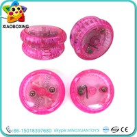 New item plastic toy light up iron yo yo ball for sale