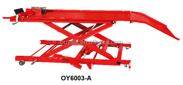 1000LBS hydraulic scissor Motorcycle Lift