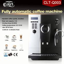 Black and sliver ABS commercial coffee machines for sale