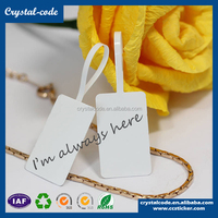 Custom jewelry price tag with logo