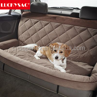 Quilted car seat cover pet car seat covers luxury dog car seat cover