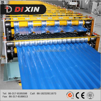 Dixin Double Deck Roofing Sheet Forming Machine /high efficiency/Energy saving