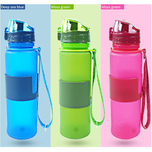 2016 New products silicone drinking collapsible water bottle/foldable water bottle