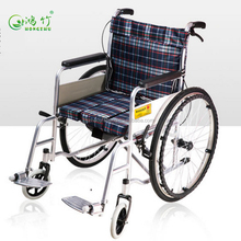 Lastest model handcycle manual folding cheap wheelchair with toilet