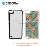 Big Discount DIY Sublimation Plastic Cell Phone Case For iPod Touch 5