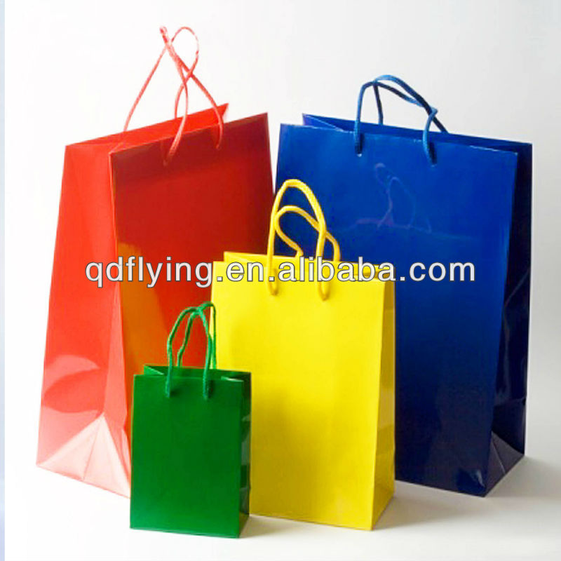 Paper bag & Paper shopping bag & luxury kraft paper shopping bag