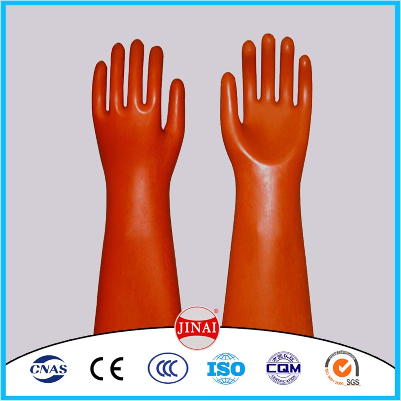 Electrical Insulated Gloves Oil Resistant gloves
