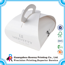 Art paper printing custom bakery paper box for shoes