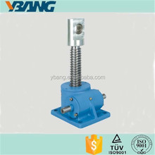 Screw Worm Lifting Platform Light Weight Worm Gear Jack