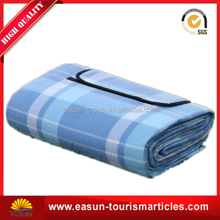 custom disposable waterproof portable pocket picnic blanket