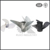 High Speed Wear-resistant 3 Blades Stainless Steel Marine Propeller