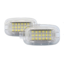 Car LED welcome door light for MercedesBenz <strong>W164</strong> X164 W169 C197 W204 W204 C207 W212 W212 LED Car door warning light
