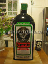 2017 Hot sale inflatable jagermeister bottle for advertising