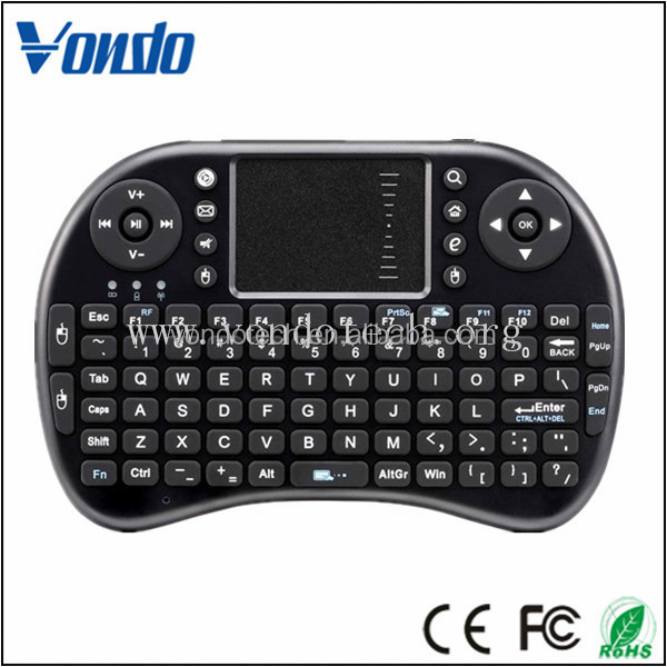 Cheapest price qwerty keyboard with oem wireless mini keyboard