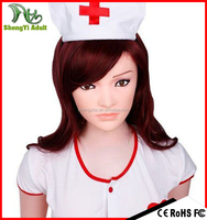 inflatable toys japanese doll 158cm nurse with artificial vagina sex toys, realistic inflatable doll online for men