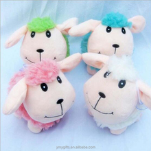 18cm pink sheep plush toy wholesale plush sheep bulk stuffed <strong>animals</strong>