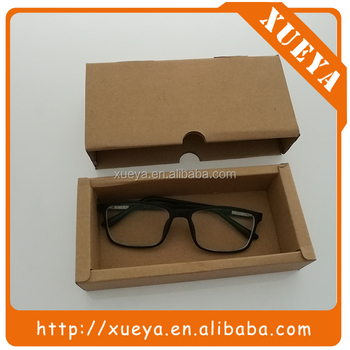 new design customized logo cardboard box sunglasses in stock