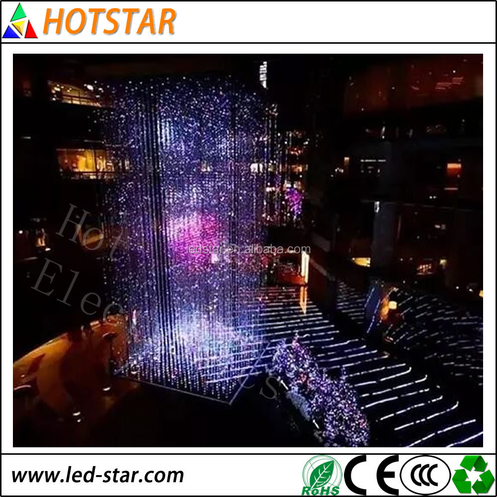 Beautiful Appearance Design New technology transparent led display decorative and colorful your business life