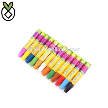 12 color children bright color art painting color crayon safe non-toxic